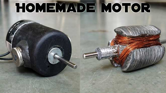 diy homemade motor