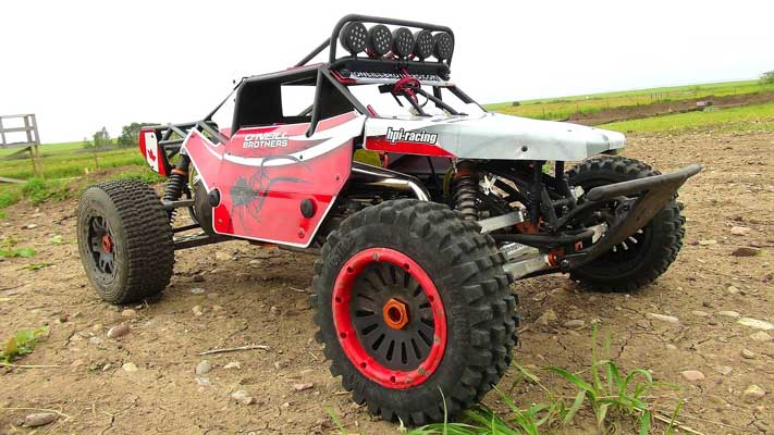 gas rc truck