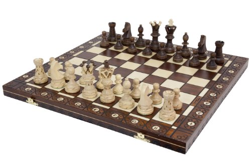 Ambassador European Chess Board Game Represents A Premium Chess Set That  Minds The Pocket Of Players On A Tight Budget. Itu0027s A Nicely Hand Crafted  Set Of ...