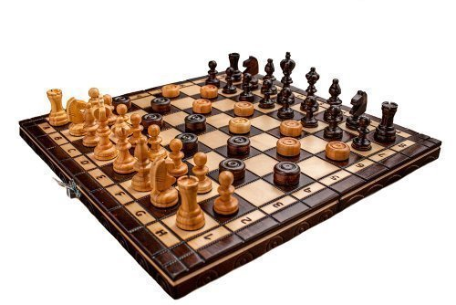 Second Last In Our List Of The Top Rated Chess Sets For The Money Is The  Cherry Wooden Chess Set. Itu0027s Crafted From The Sturdy Beech And Birch Woods  For ...