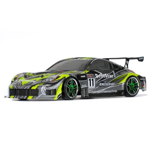 Exceed RC Electric DriftStar RTR Drift Car 350 Green Version