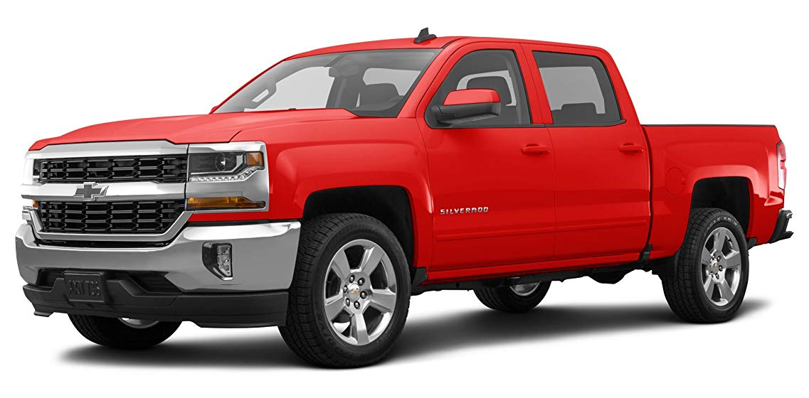 "best truck for towing featuring 2018 Chevrolet Silverado 1500 Custom 2-Wheel Drive Crew Cab 143.5"", Red Hot"