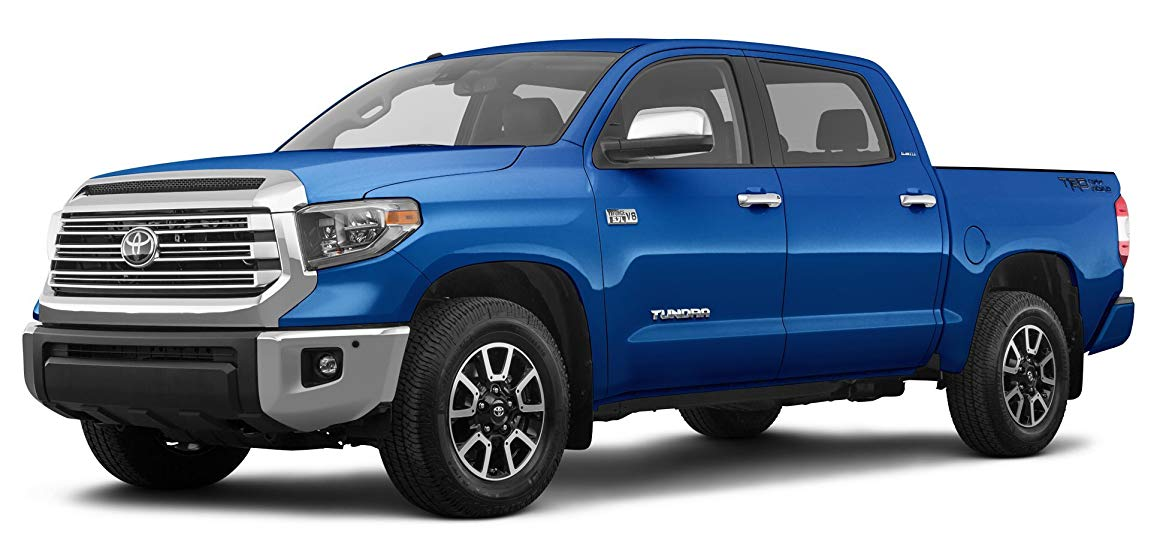best truck for towing featuring 2018 Toyota Tundra 1794 Edition CrewMax 5.5' Bed 5.7L (GS), Blazing Blue Pearl