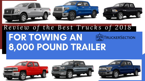 best truck for towing featuring 6 trucks in different colors