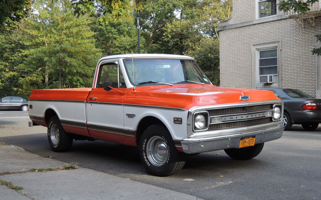 Vehicle Spotlight The Classic 1970 Chevy Truck Series